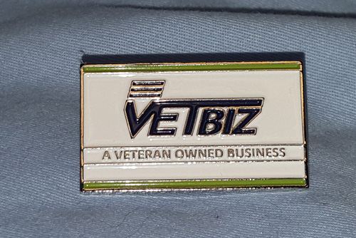 VetBiz Lapel Pin - Veteran Business owners