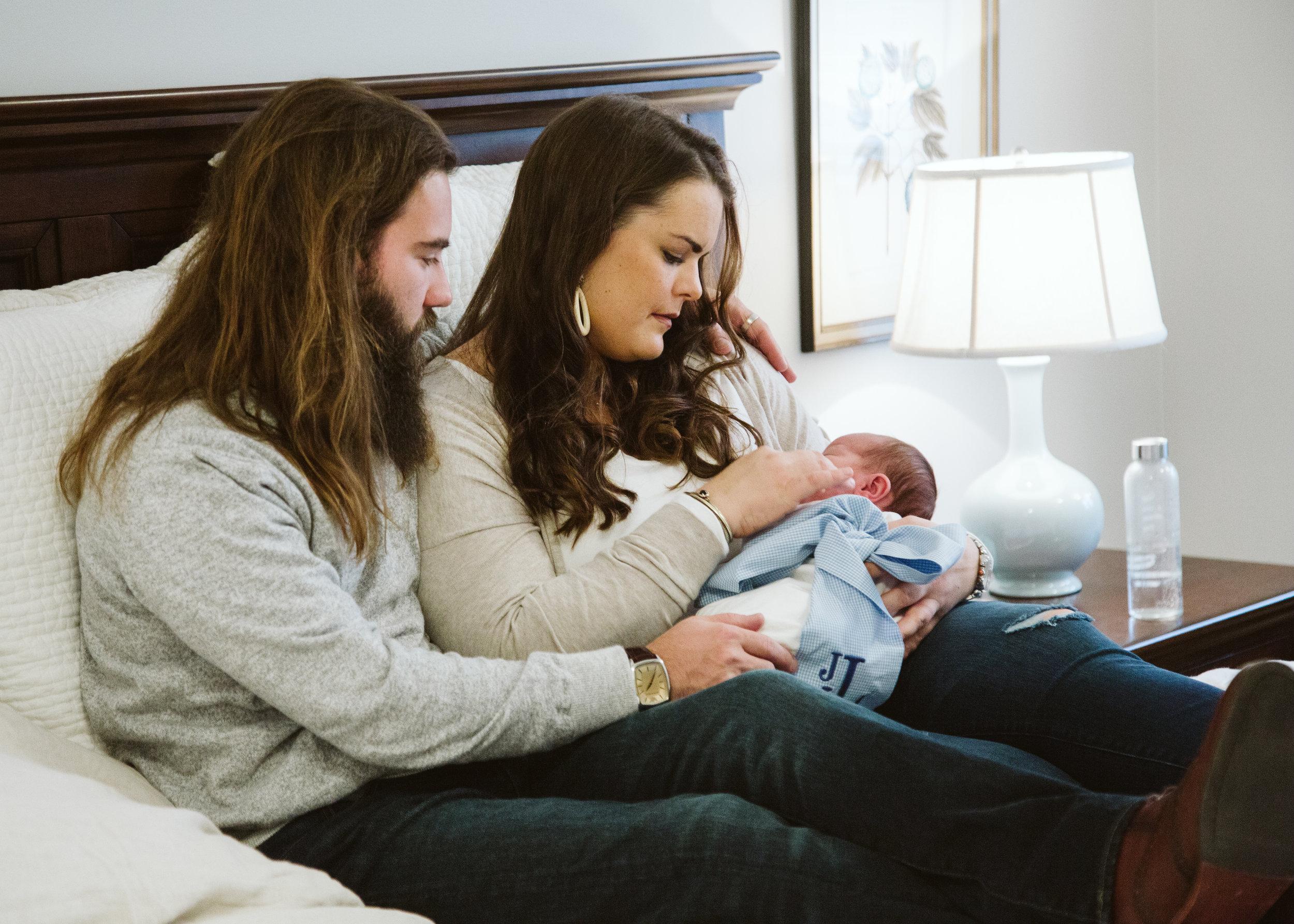 louisville newborn session