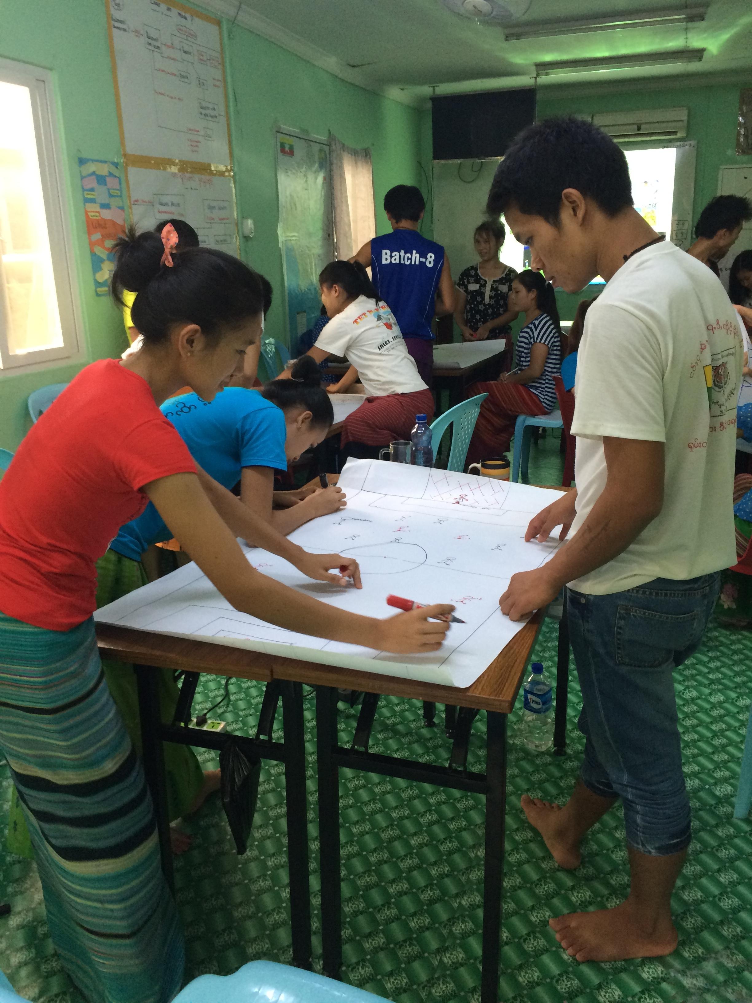 Myanmar:  Intro to Design Thinking