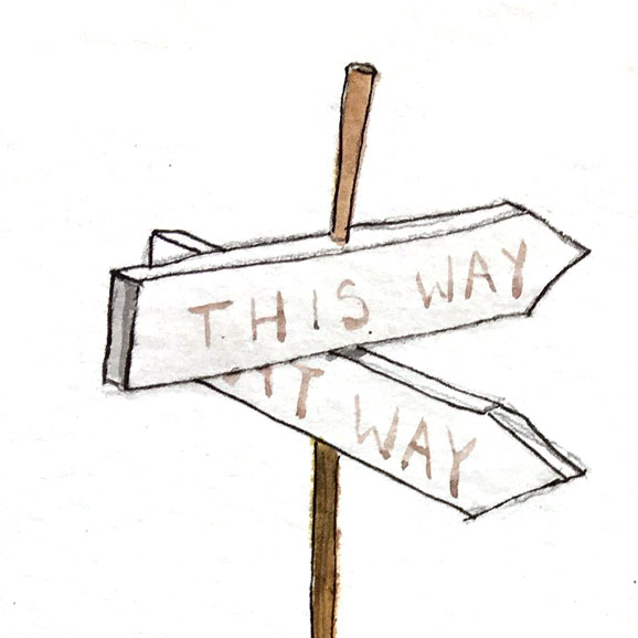 Deciding to Step Off the Beaten Path - That moment where you're realizing you will no longer lead your life by following the well-trodden path. You want something more, something more authentically you.