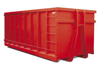 Apto para residuos de densidad baja tales como cartones, plásticos, maderas, residuos mezclados, etc. Es necesario que se disponga de amplio espacio para instalarlo, debido a la maniobra del camión.  MEDIDAS:6 x 2.5 x 2.20 m