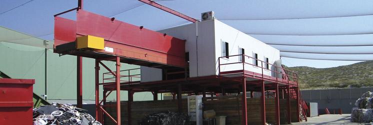 Planta de revalorización de residuos industriales en Zaragoza
