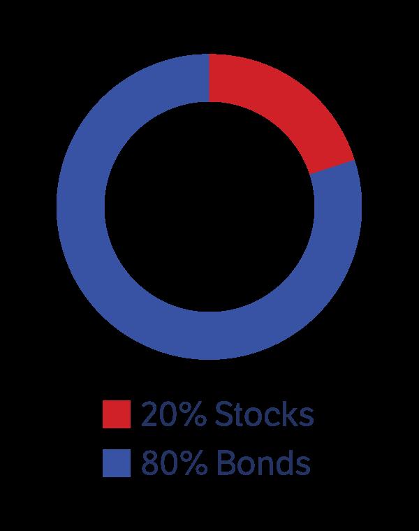 ABLE Conservative: 20% Stocks, 80% Bonds
