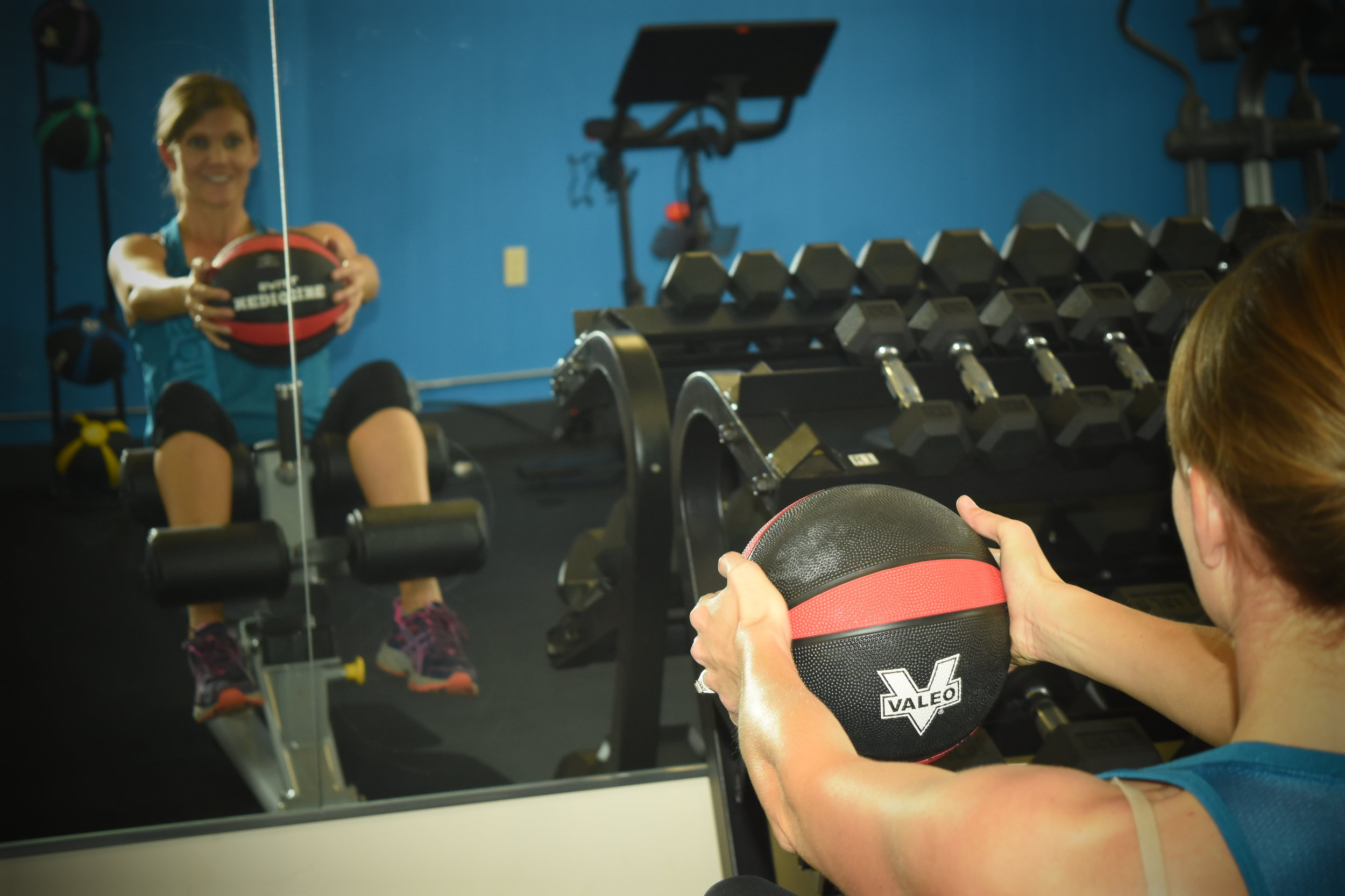 kristin ball workout strong strength fitness exercise gym crested butte south key card access.JPG