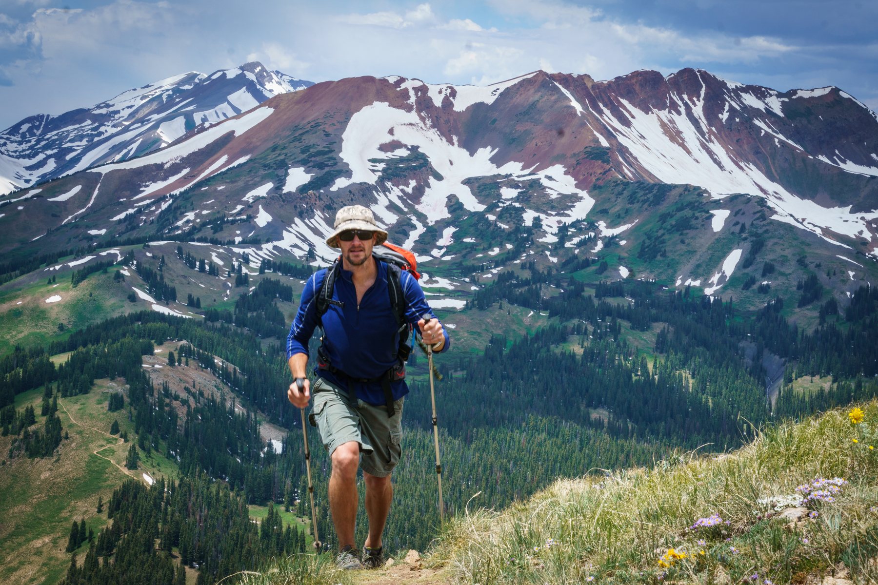Andy hike fitness exercise workout everyday.  key card access. crested butte colorado