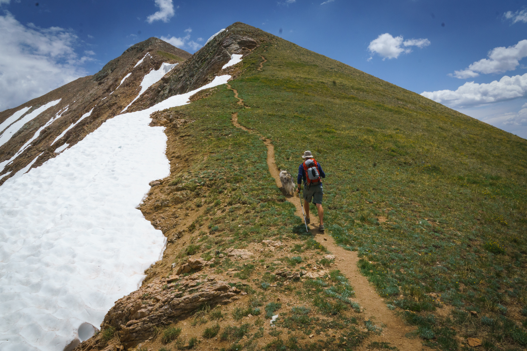 andy hiking exercise everyday. crested butte gym. fitness. strength training