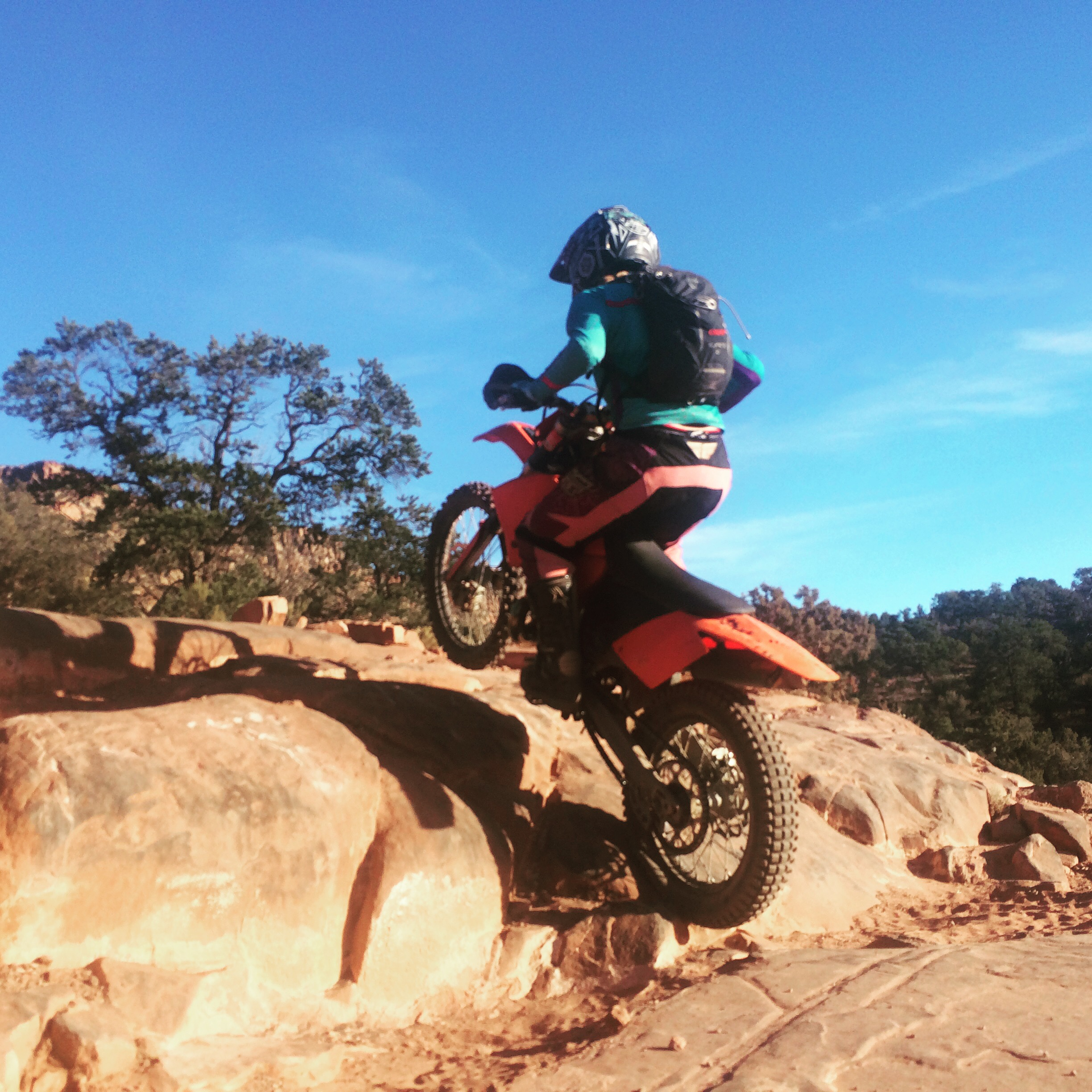 cooper dirtbiking