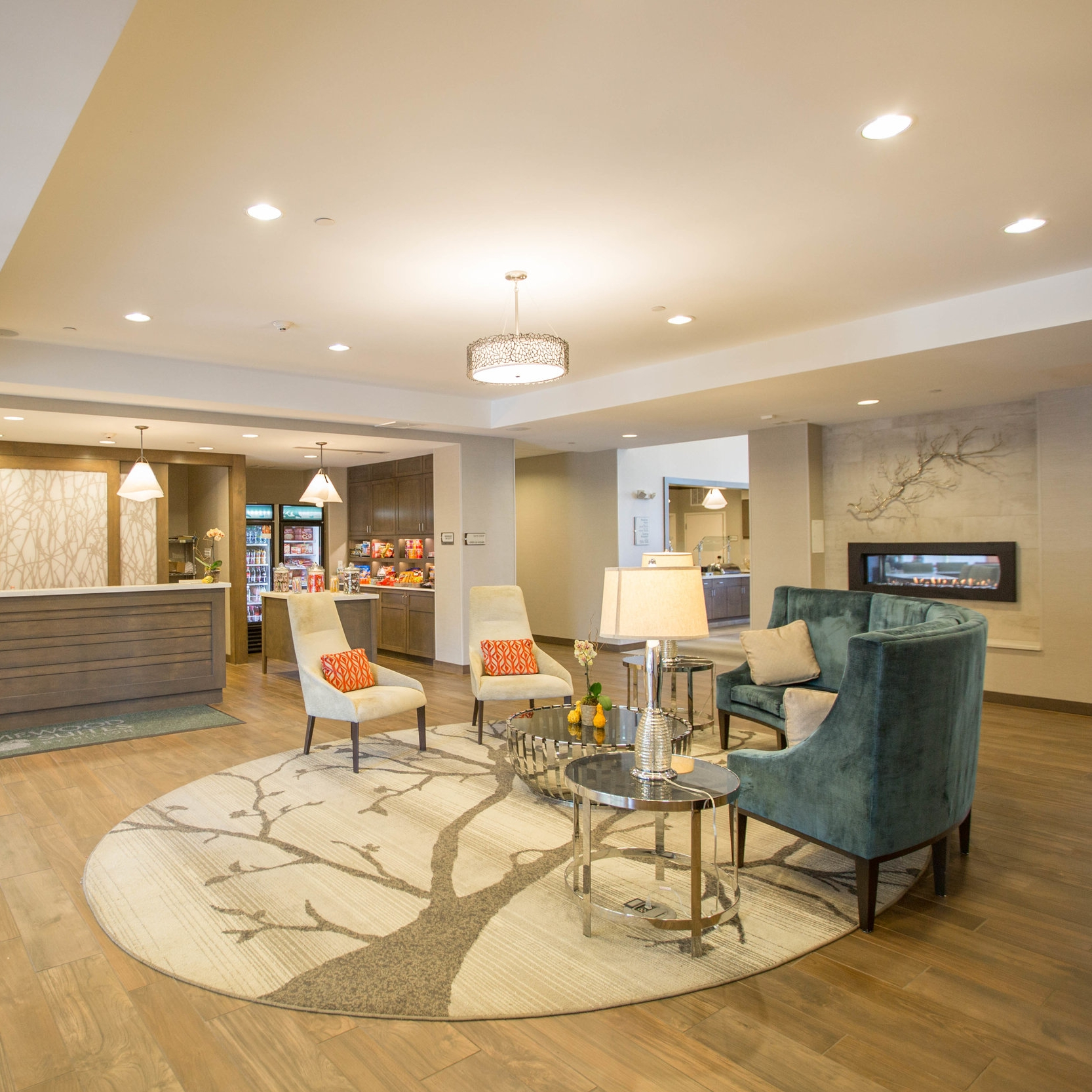 Homewood Suites Hotel   78,000 Square Feet 105 Guest Rooms Contractor: Opechee Nashua, New Hampshire