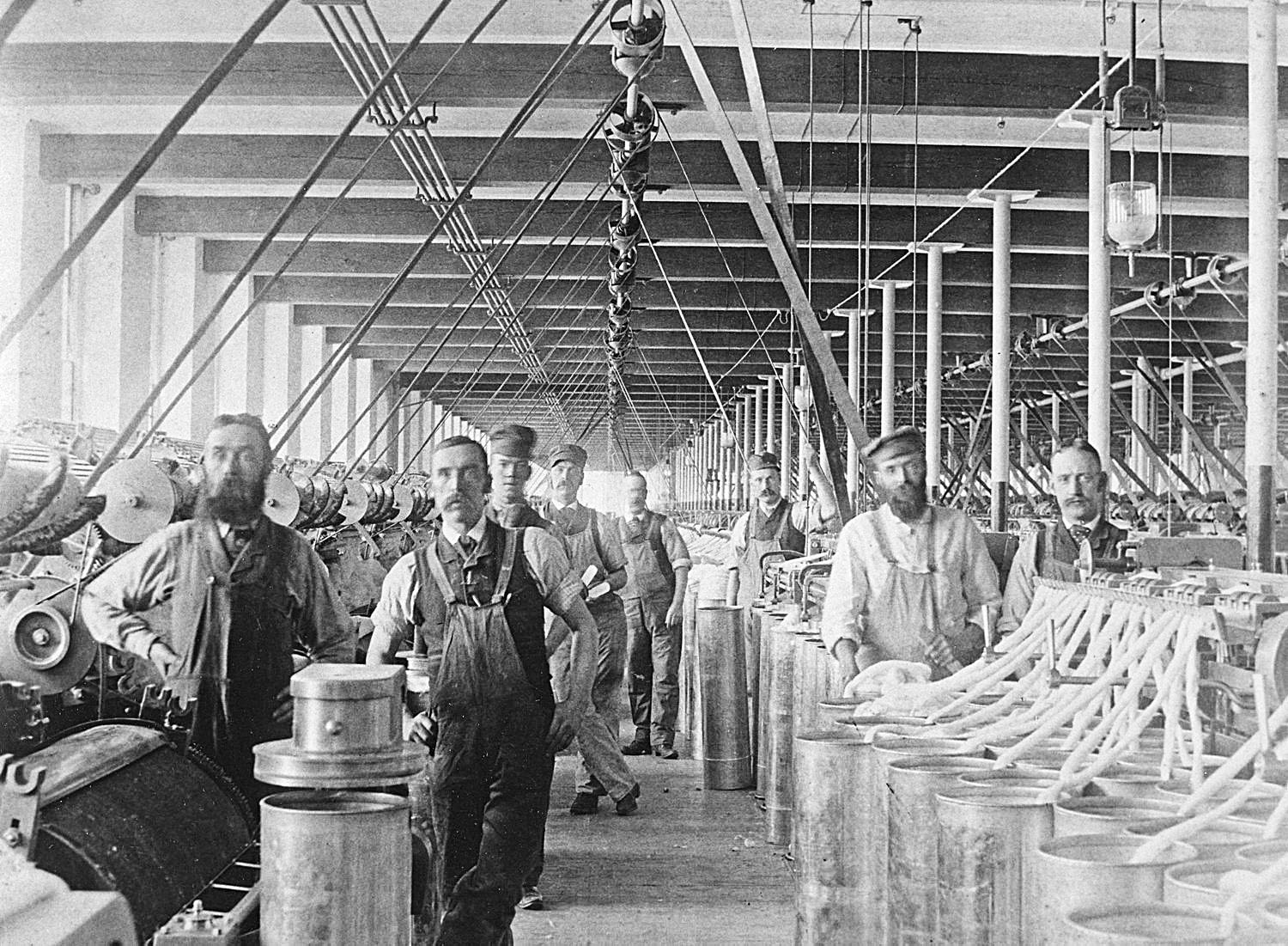 Mill Workers Manchester, New Hampshire