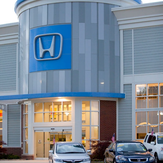 Boch Honda West   Car Dealership 52,000 Square Feet Westford, MA Contractor: F.W. Madigan Company