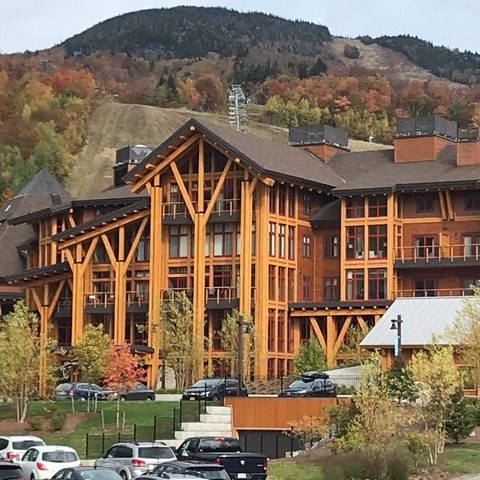Spruce Peak at Stowe   Luxury Condos Square Feet: 125,000 Stowe, Vermont Contractor: PC Construction