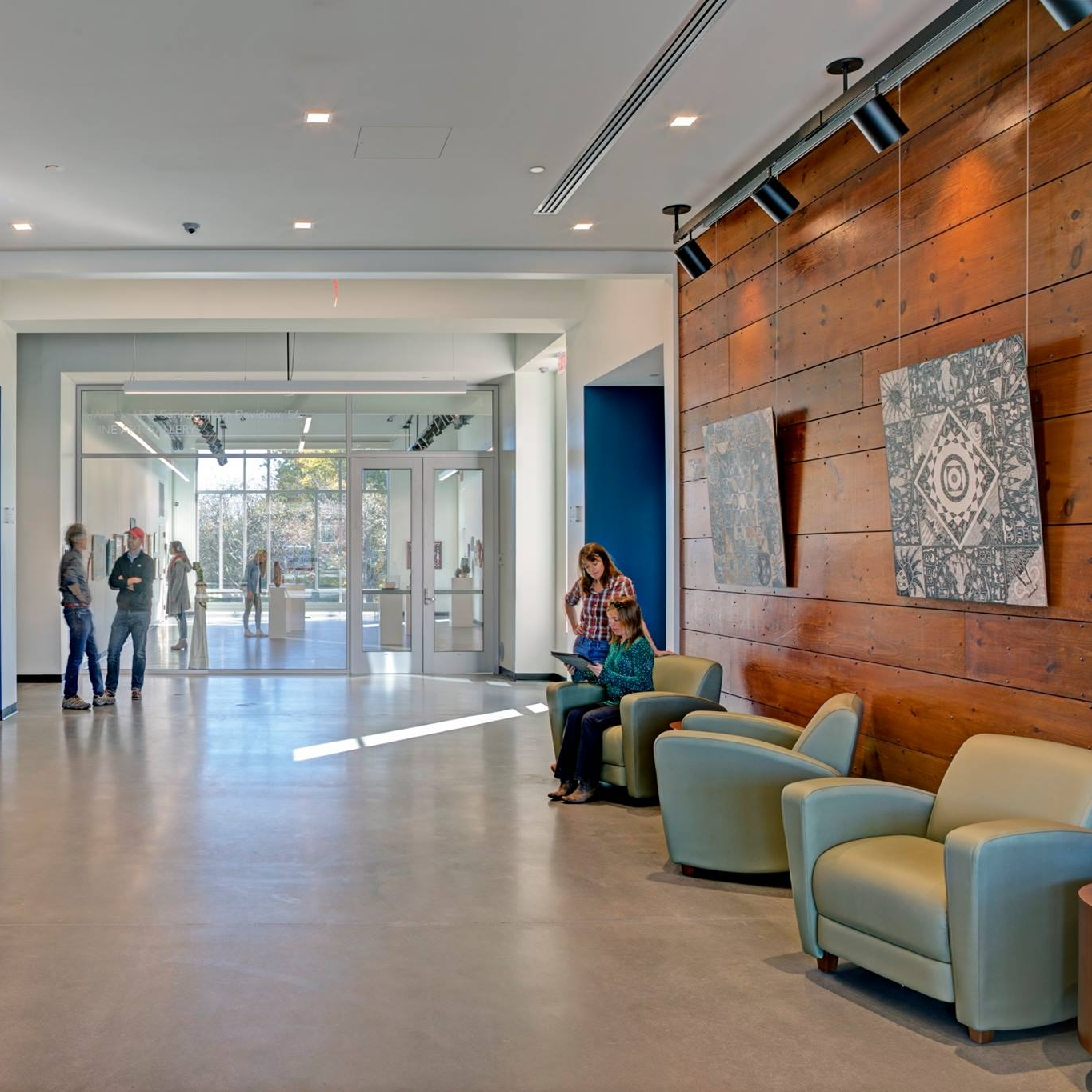 Colby Sawyer College Fine Arts Building   Fine Arts Building Contractor: North Branch Construction 15,000 Square Feet Colby Sawyer College