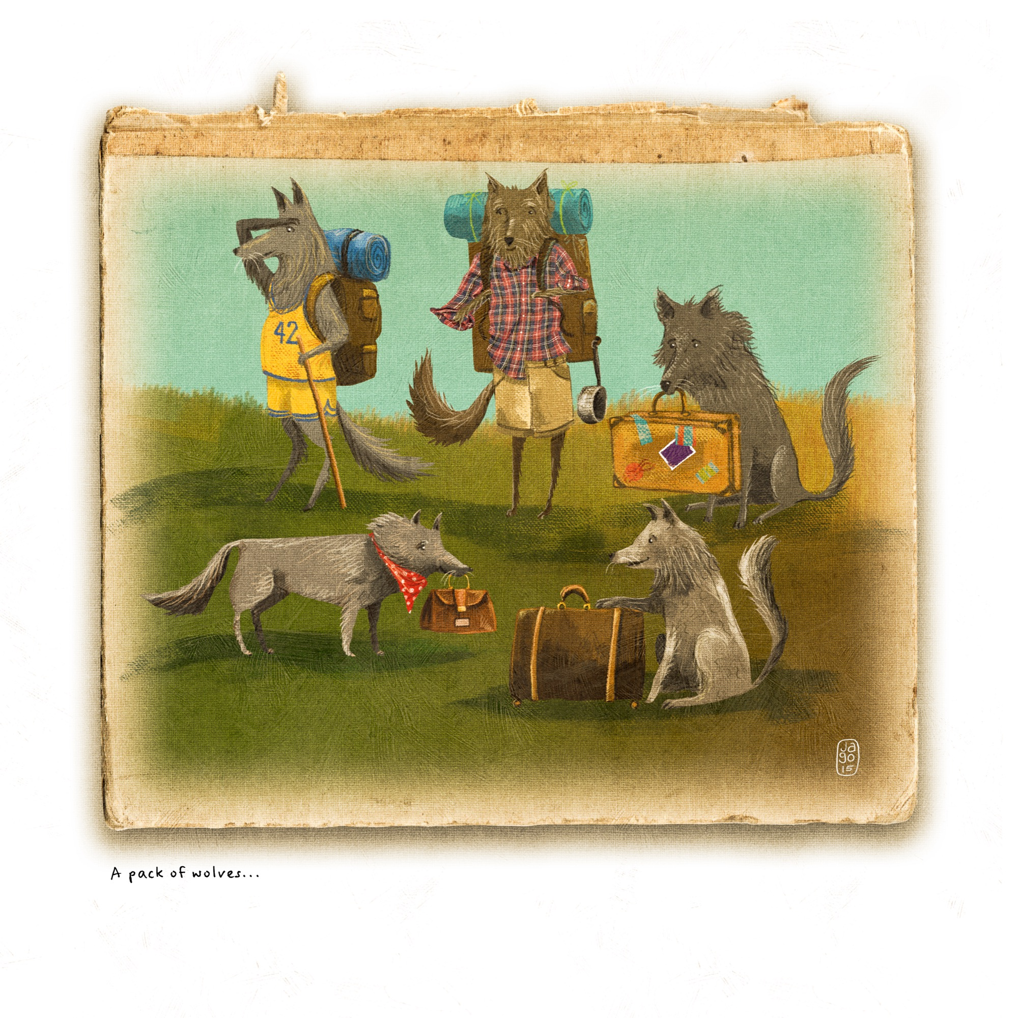 A pack of wolves 12 x 12 copy.jpg