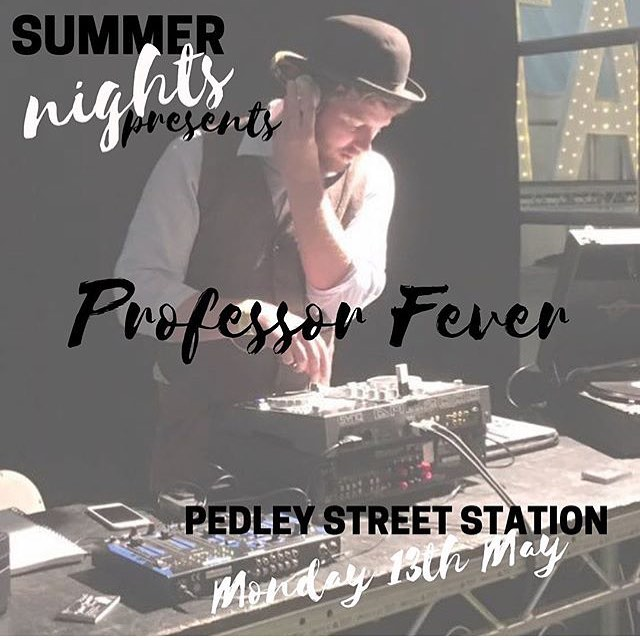 Monday is the night! Get your dancing shoes and glad rags on as for one night only your very own Professor Gramophone becomes Professor Fever! Disco DJ extraordinaire! Bethnal Green is the place and tickets can be bought from this link for only five British pounds! 🎧🎼🎉 . https://www.eventbrite.co.uk/e/summer-nights-tickets-60868468227?aff=efbeventtix . . . . . . @summerproductionsuk @madspearce #professorgramophone #professorfever #onenightonly #disco #70s #mondayfunday #eastlondon #eastlondmusic #whattodoinlondon #londonlive #retrodj #discodj #summernights #bracesgetyouplaces