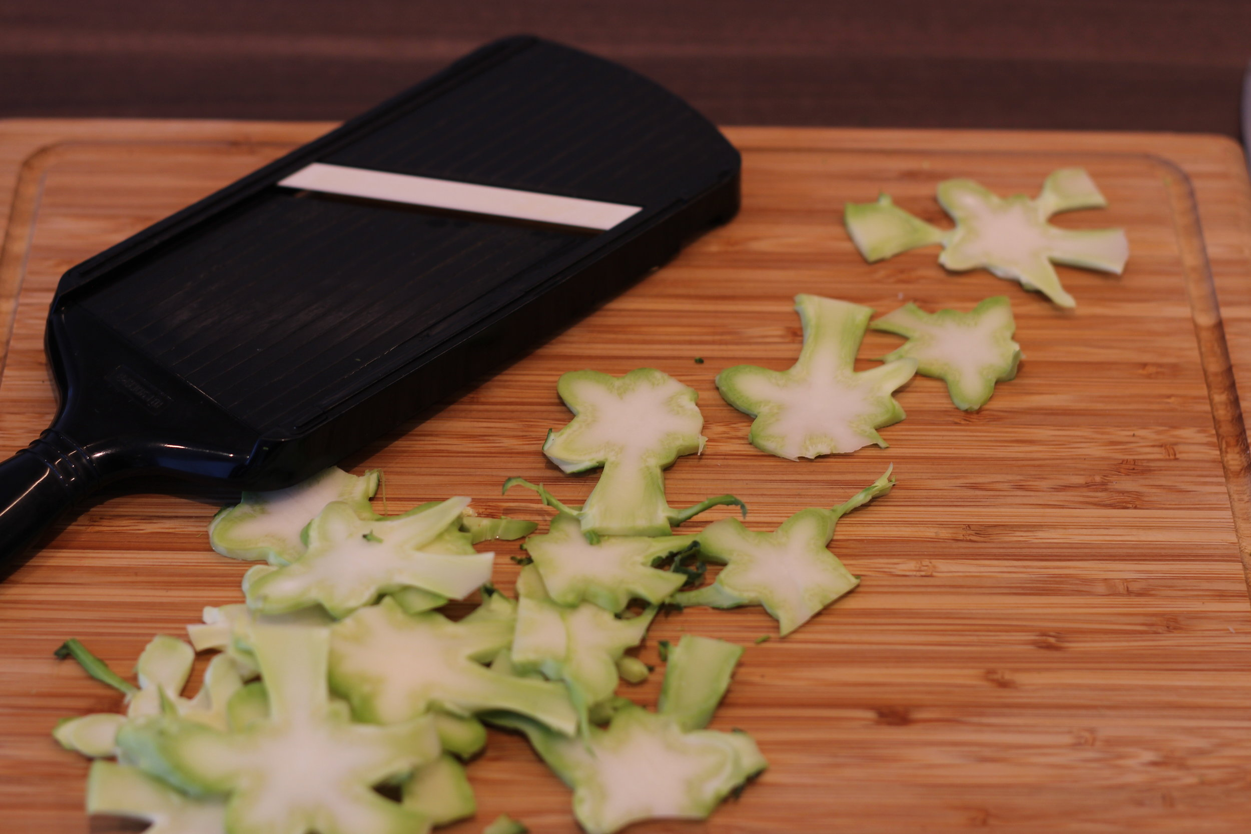 Stjärnig broccolistam