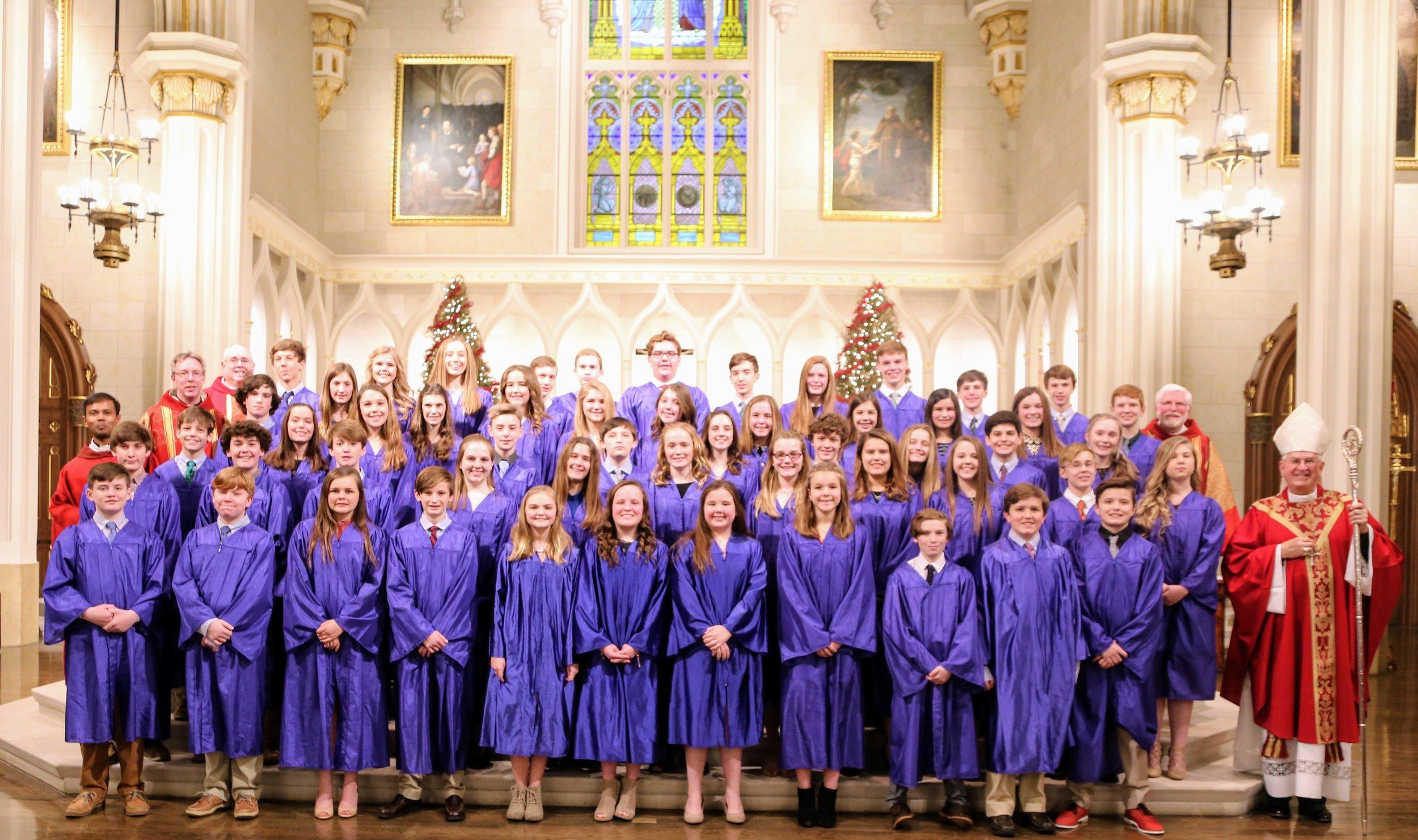 2019 Saint Agnes Confirmation Group