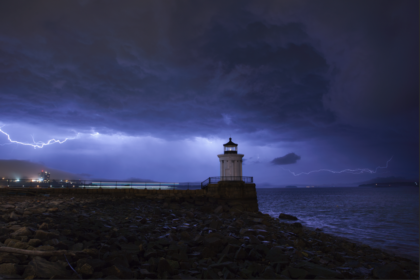 Now that lighthouse looks a little more ominous
