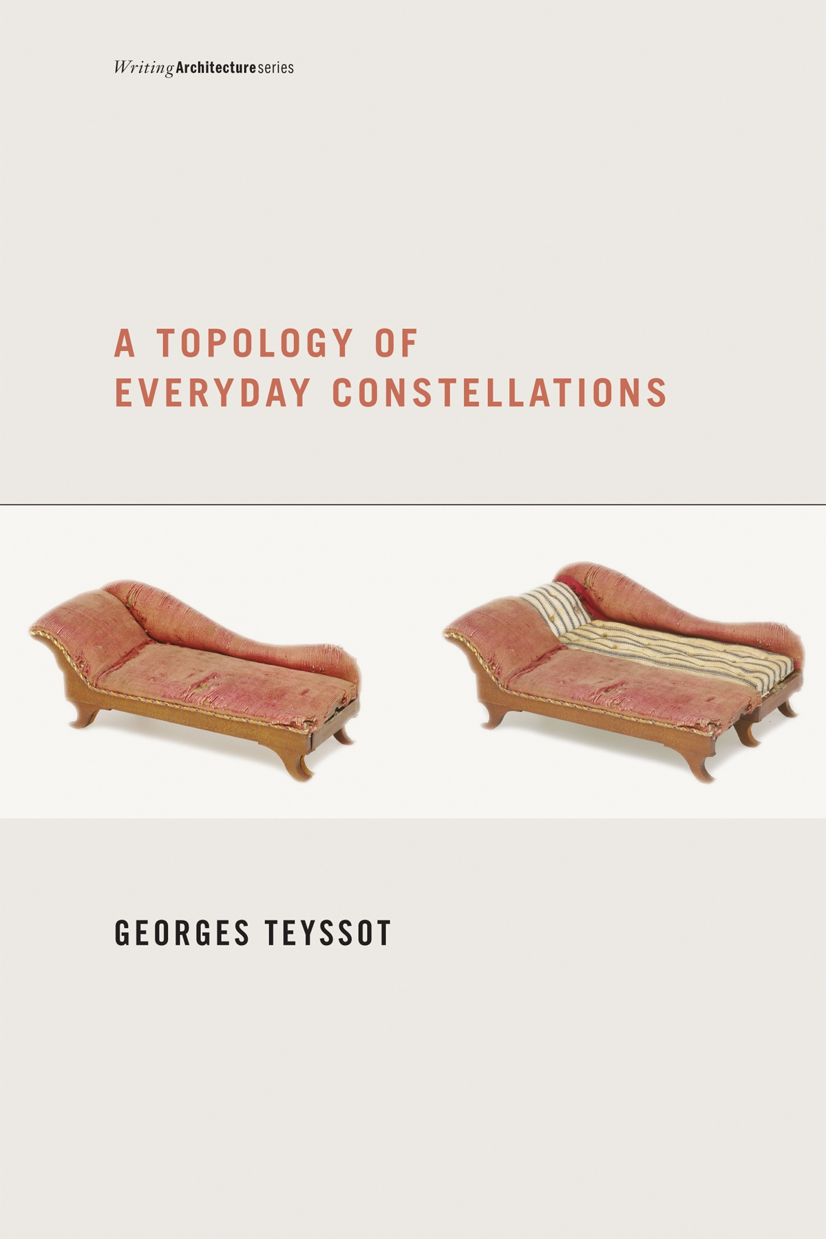 "A Topology of Everyday Constellations  by Georges Teyssot  ""One of the six best books of 2011"" –  Architect  magazine  Today, spaces no longer represent a bourgeois haven; nor are they the sites of a classical harmony between work and leisure, private and public, the local and the global. The house is not merely a home but a position for negotiations with multiple spheres – the technological as well as the physical and the psychological. In  A Topology of Everyday Constellations , Georges Teyssot considers the intrusion of the public sphere into private space, and the blurring of notions of interior, privacy, and intimacy in our societies. He proposes that we rethink design in terms of a new definition of the practices of everyday life."