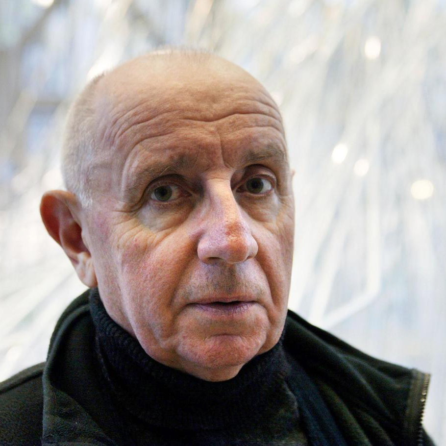 Paul Virilio photographed in 2002. Photo: Daniel Janin/AFP.