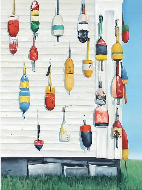 Buoy House by Caroline Loder
