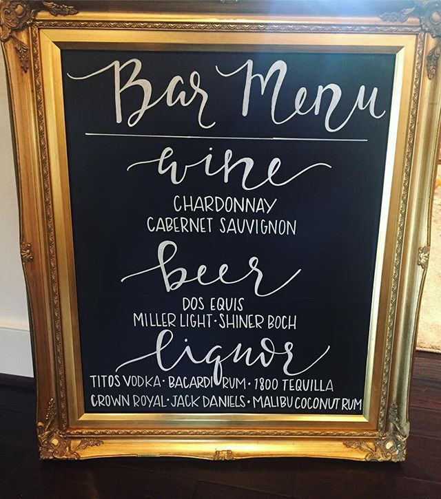 Working that nap time hustle to try and finish up some signage early for this weekends wedding!! Wedding season is officially in full swing for us and we love it!  #weddingseason #fallweddings #decorandmorehouston #rentvsbuy #weddingrentals #customsignage #chalkboardsigns #houstonweddings #houstonweddingvendors