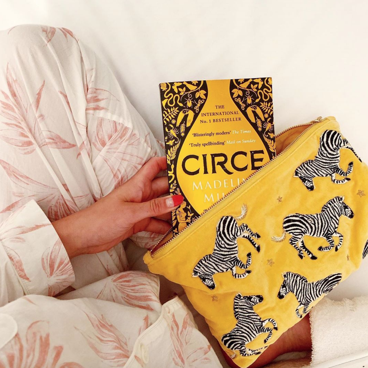 Circe by Madeline Miller - After ploughing through two Sally Rooney books at the speed of light, I've found it a little harder to get into my new read. But now that I've just about got my head around the mythological names, I'm pretty hooked.