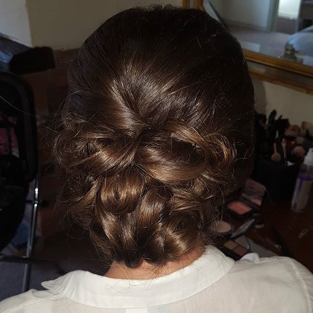 Hair and make up for Kayliegh's lovely bridesmaid on Sunday!! Both hair and make up by me, recreating the hair and make up from Kayleigh's wedding day in Portugal 💗  #bridesmaidhair #bridesmaidmakeup #occasionhairandmakeup #bridesmaidinspiration #weddinginspiration #hairbyme #makeupbyme #mua #hairstylist #cheshirehairstylist #staffordshirehairstylist #hairandmakeupbyme #wakeupandmakeup