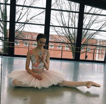 Julia Vines  @juliavinez , the coup de ballet with  Pennsylvania Ballet  is wearing  nui's Ombre tutu.