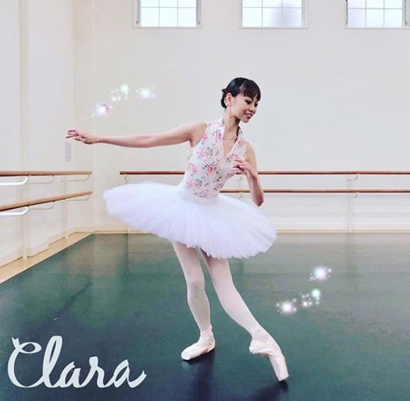 The one and only Mizuka Ueno  @mizukaueno , the principal dancer with the Tokyo Ballet  @tokyoballet_official  💓 Tutu by nui  @nuikobo