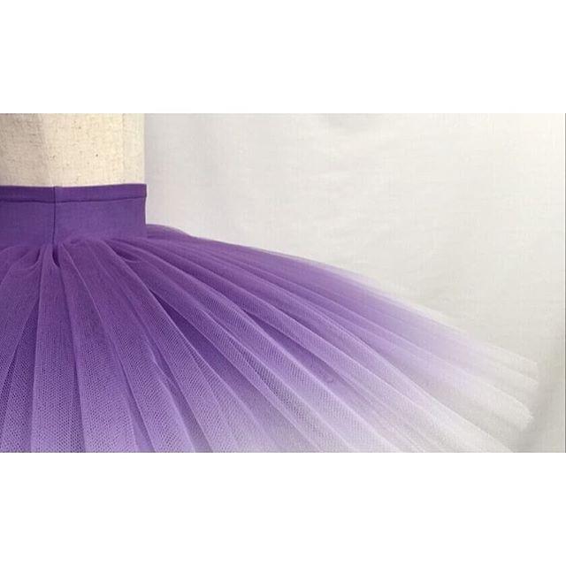 💜💜💜 #nui #nuikobo #tutustagram #tutubynui #classicalballet #balletstagram #ballettutu #balletcostume  #purple #worldwideballet #dancewear #ombretutu  #バレエ #チュチュ