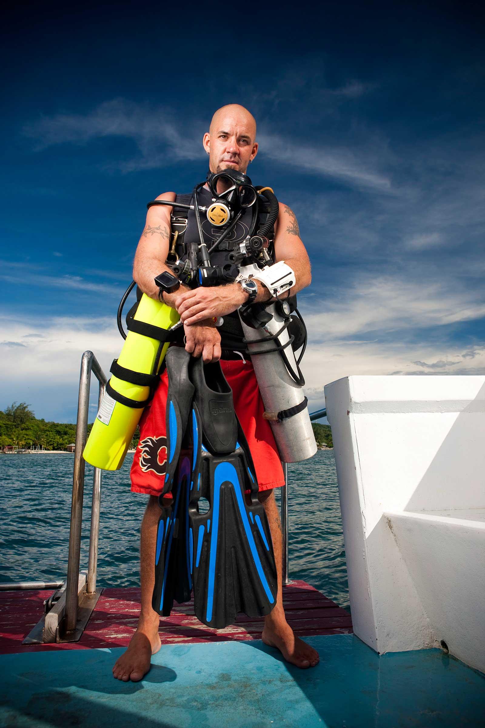 sidemount instructor monty graham