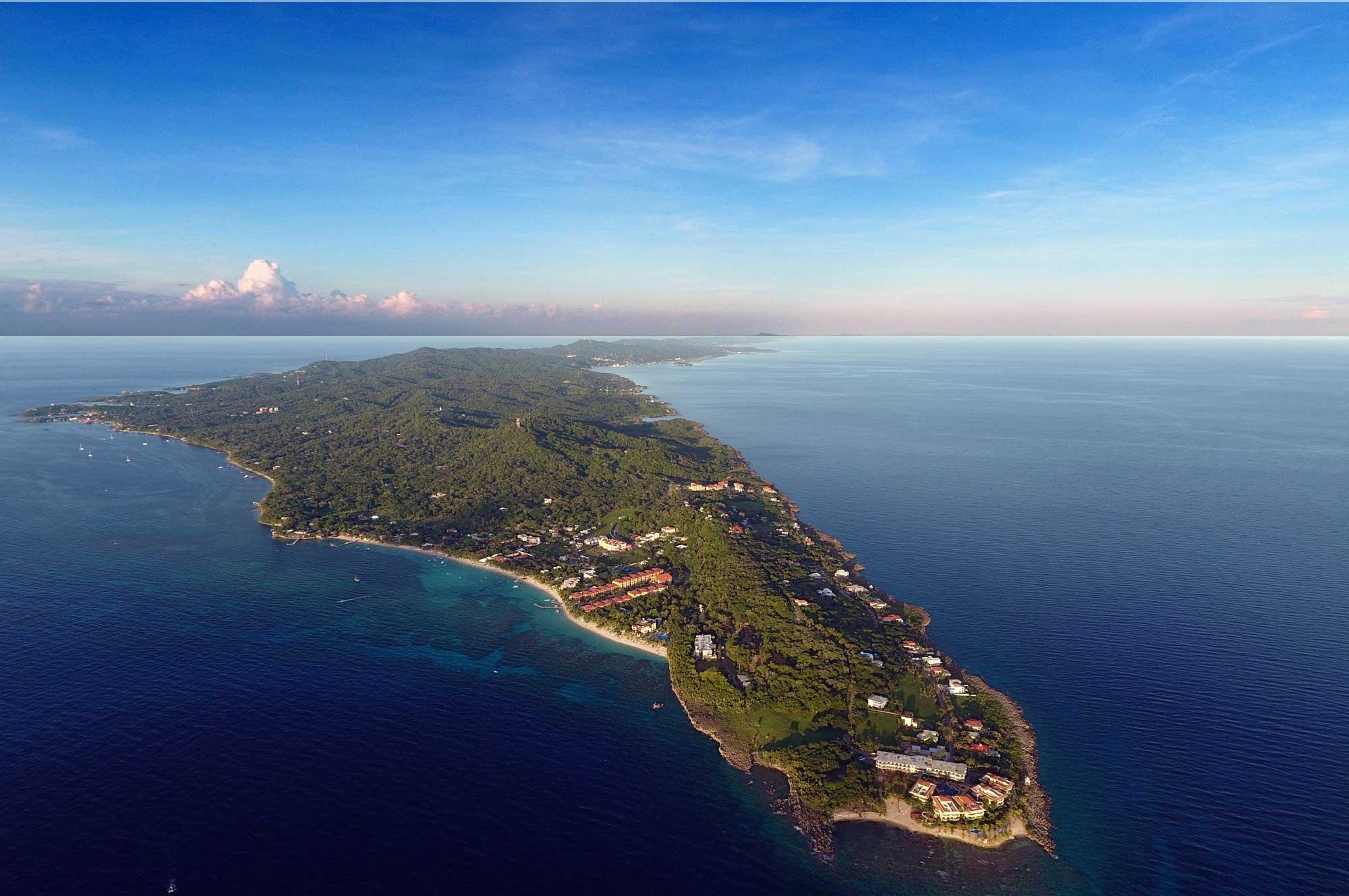 Roatan Island caribbean coast honduras