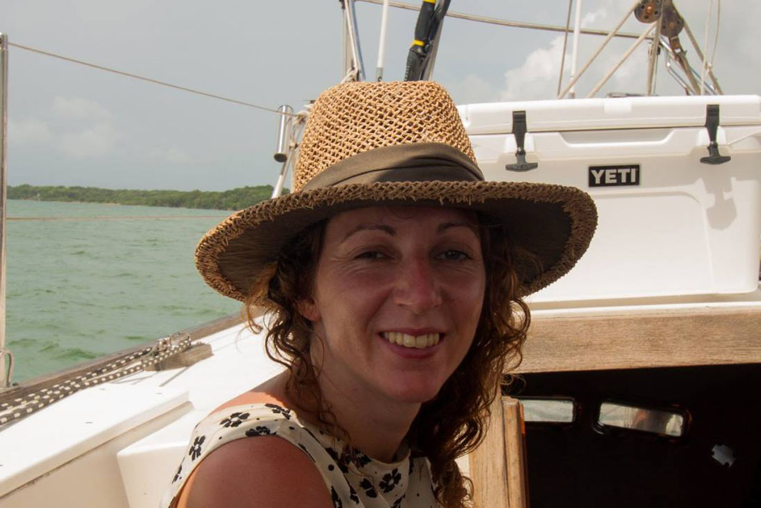 PADI Open Water Scuba Instructor Heidi O'Shea