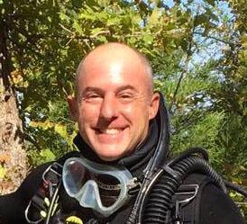 PADI Staff Instructor Mark Mack