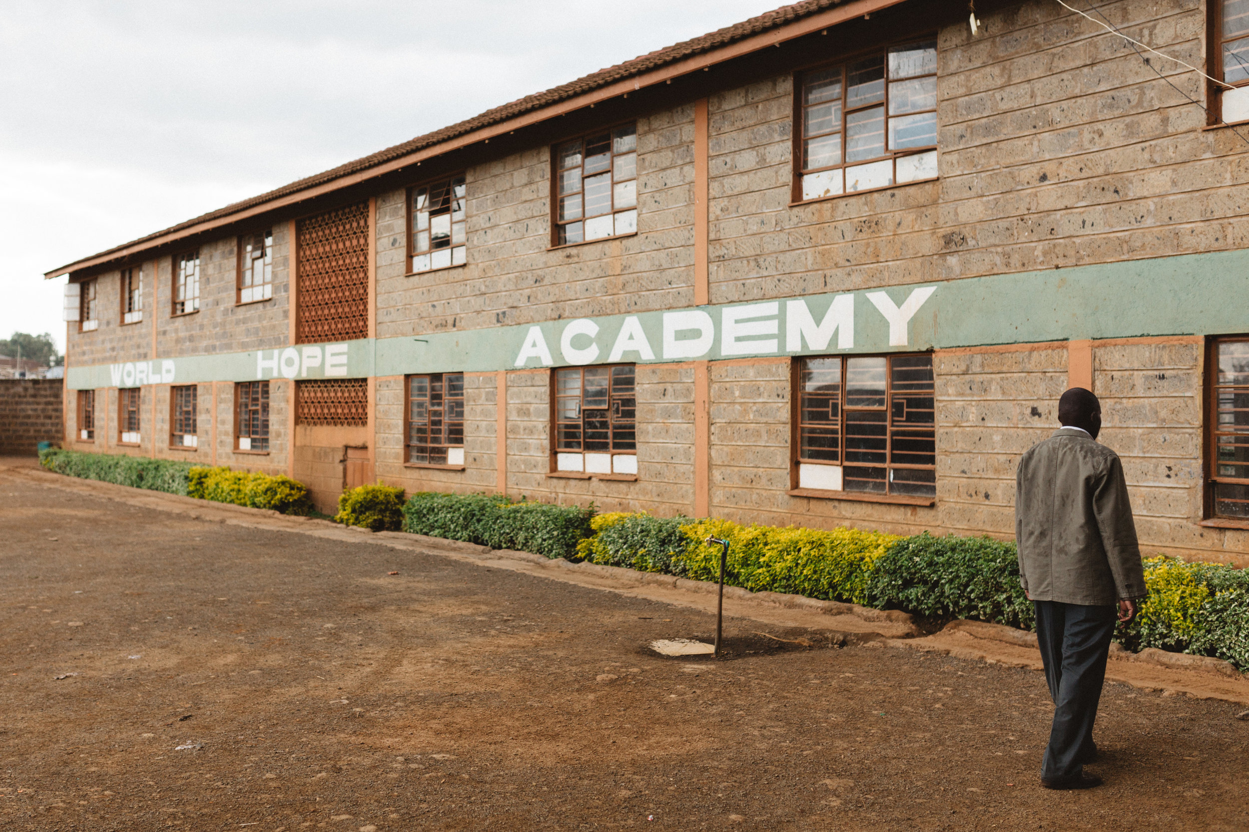 World Hope Academy, Nairobi. This was the first of many home centers that we visited during our time in Kenya. One Child Matters uses the local church to provide holistic development opportunities for children.