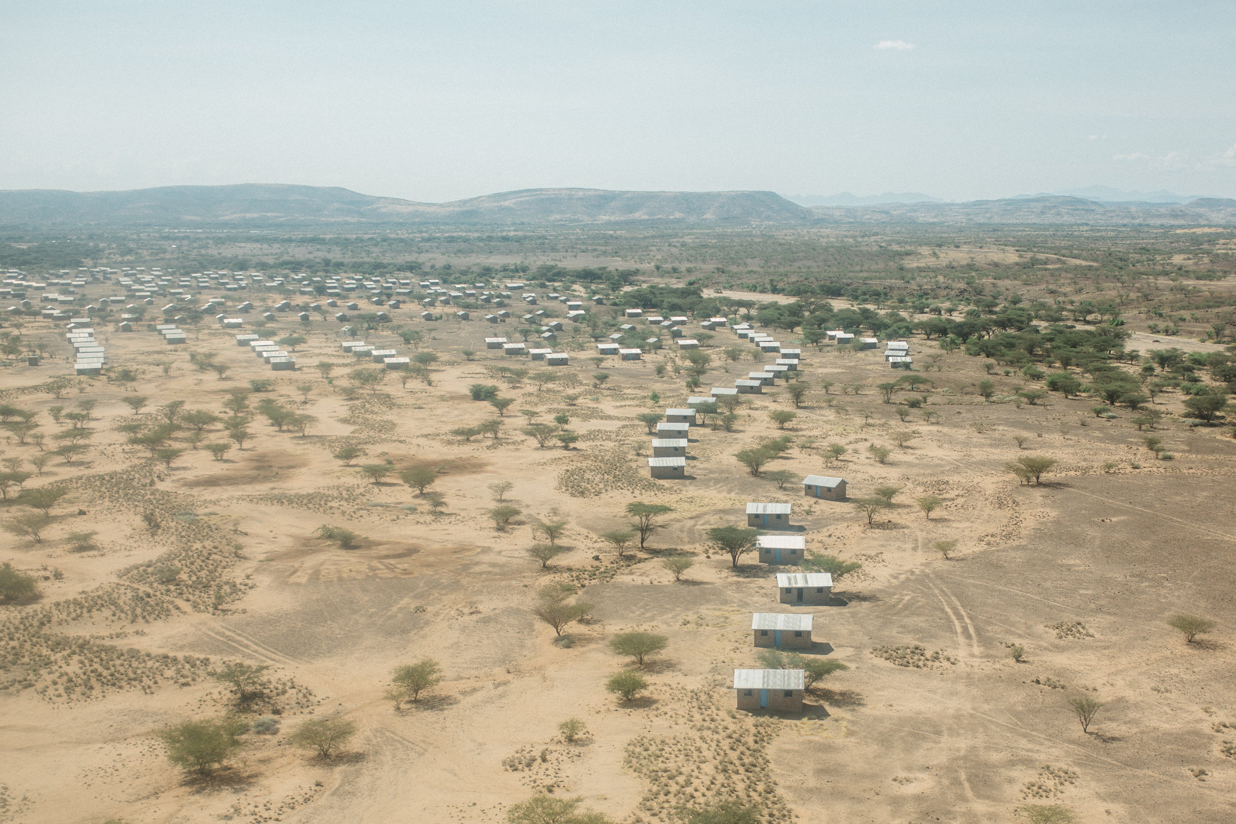 Lokori, Turkana from above.