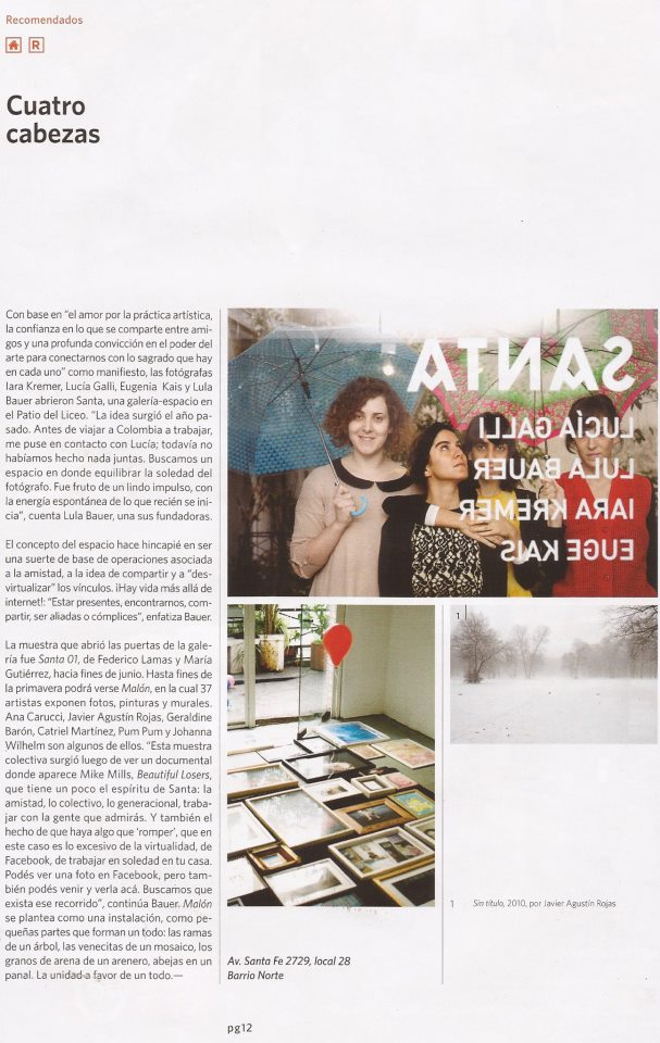 Revista Pul, 2012.