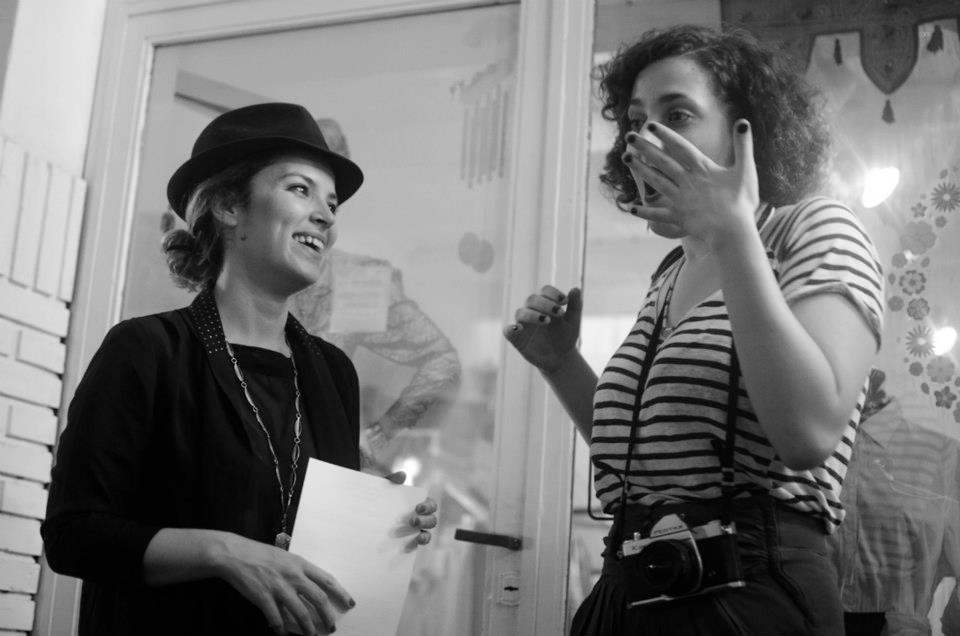 Geraldine Barón y Iara Kremer, 2013.