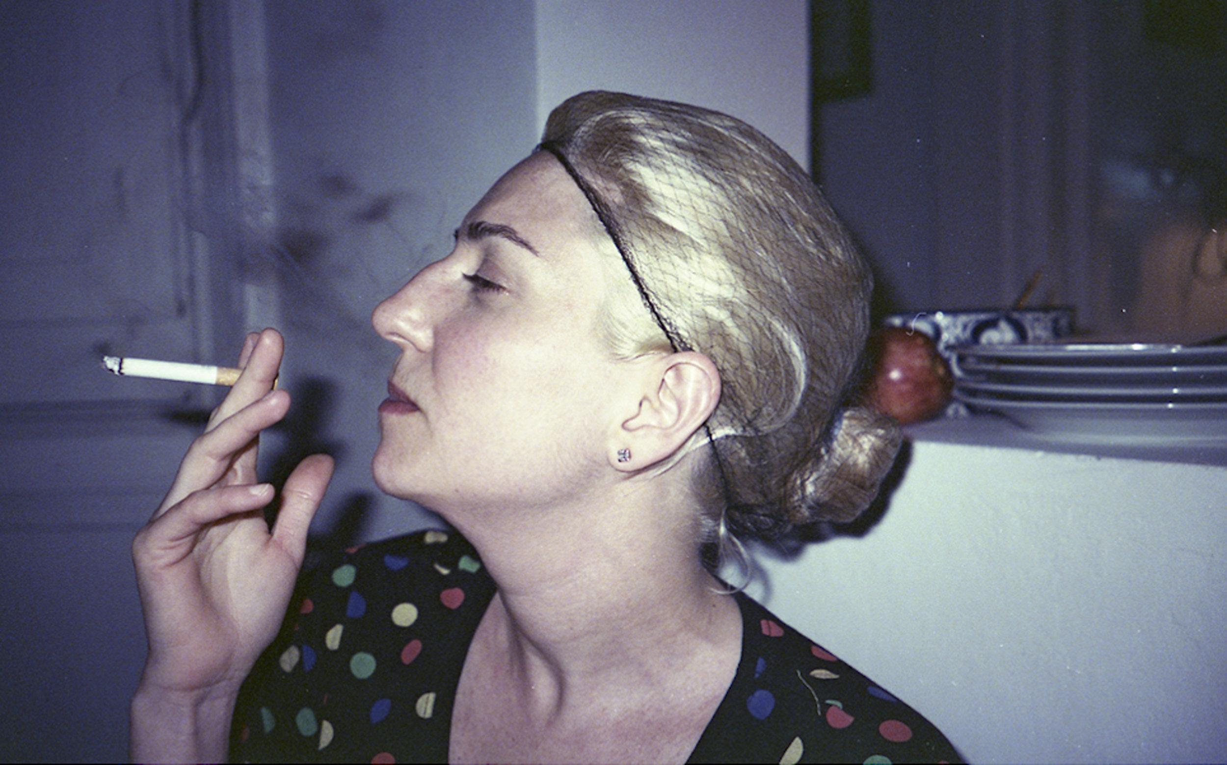 Una foto de Lorena Fernández para la muestra: El vacío está detrás de nuestras espaldas, 2014