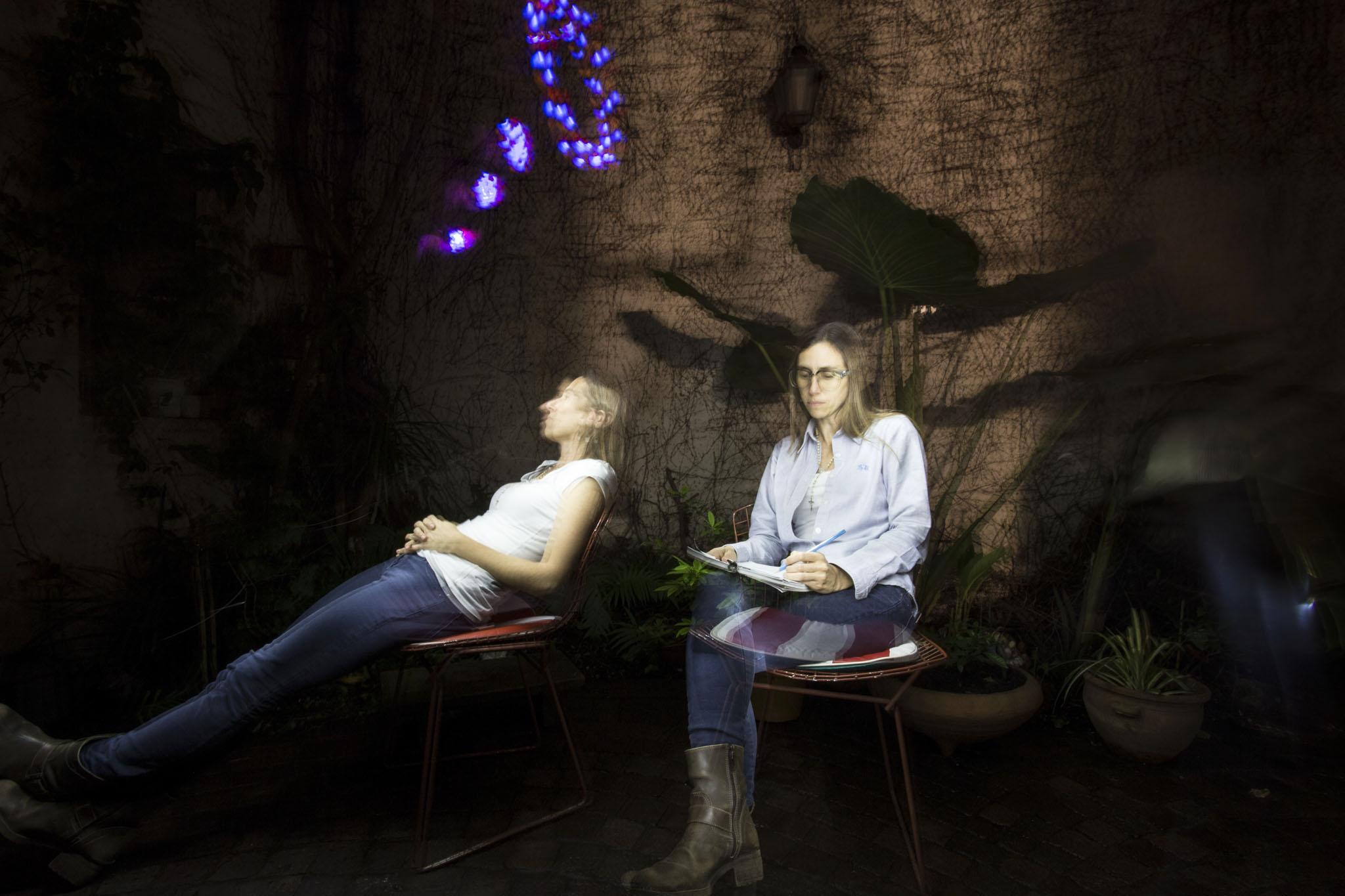 Florencia Marciano,  Experiencia nocturna, Fotografía Digital.