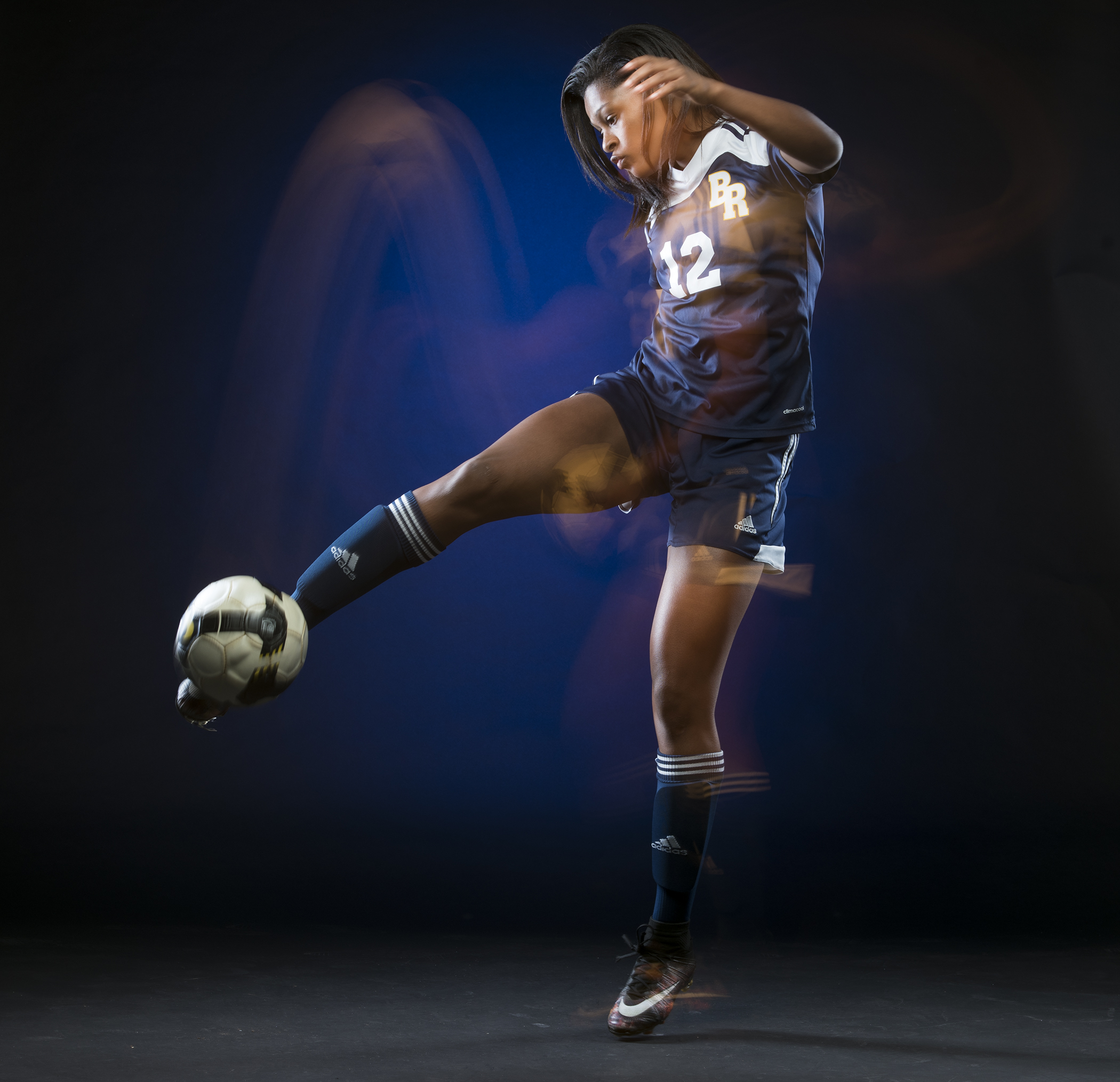 Boca Raton's Dayana Martin is the 2018 All-Area Girls Soccer Large Schools Player of the Year.
