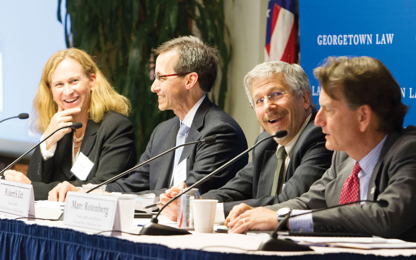 Panelists speak at event on national security and the law