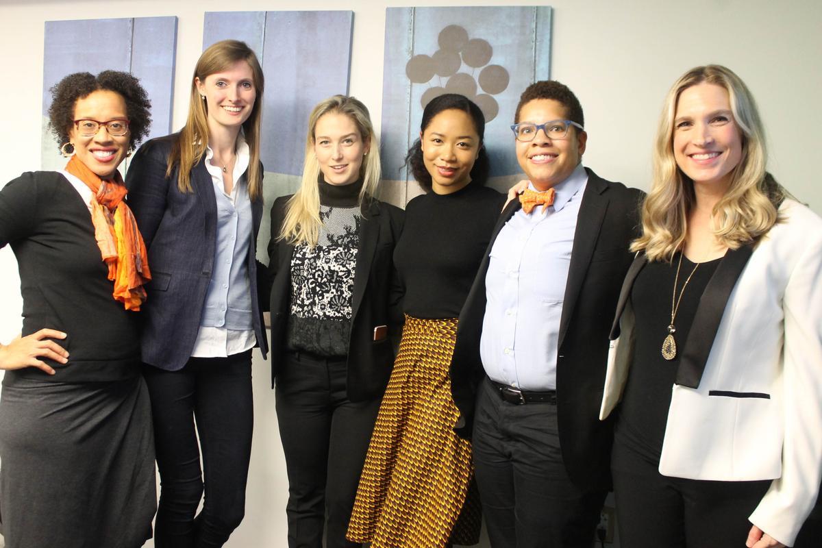 BEACON Board Members Xina Eiland, Alexandra Givens, Anna Mason, Aerica Banks, Joy Whitt and Shana Glenzer