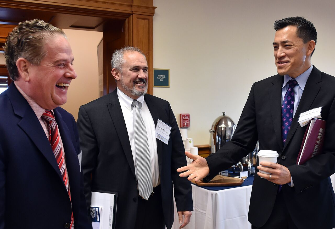 Former Patent Commissioner Bob Stoll, PTAB Chief Judge Ravid Ruschke & Fed. Cir. Judge Raymond Chen