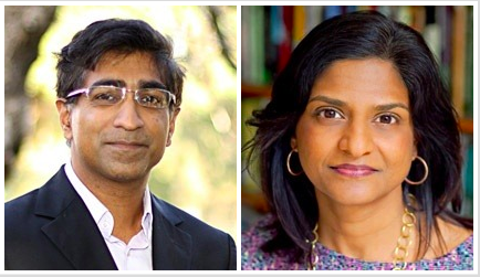 Professors Anupam Chander and Madhavi Sunder will join the Georgetown faculty this fall.