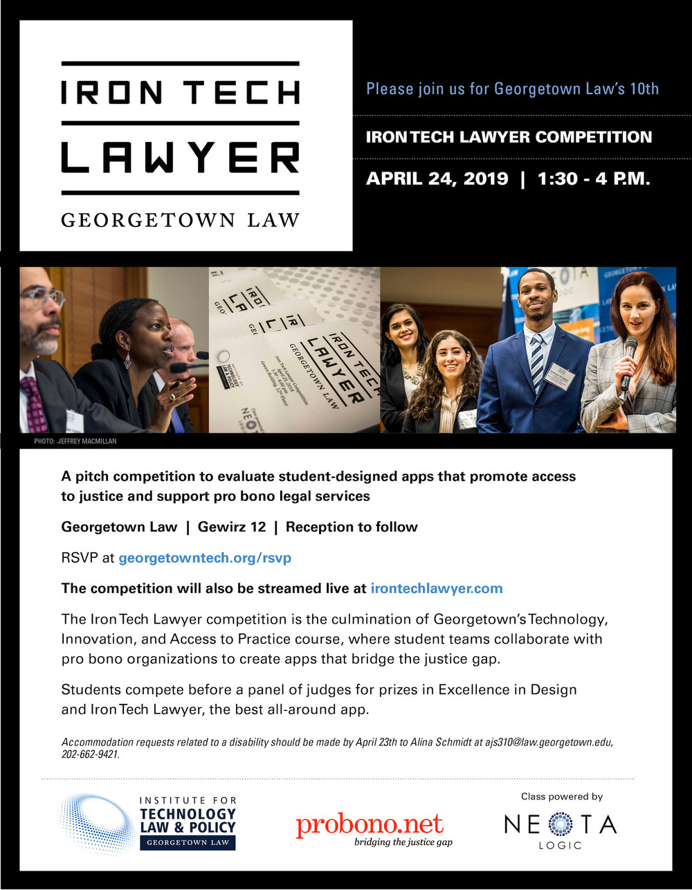 Apps Georgetown Edu >> 2019 Competition Institute For Technology Law Policy