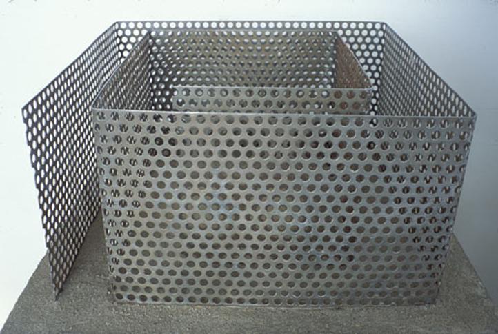 Maze (maquette), 1989,   mild steel,Variable Dimensions