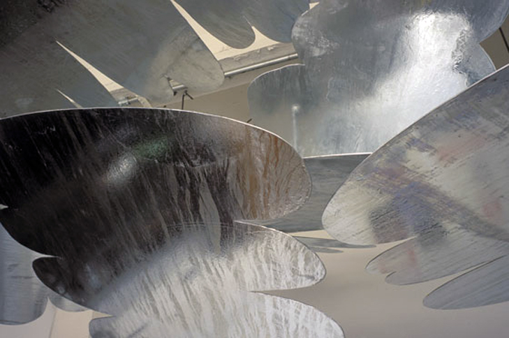 Clouds Nine (detail), 2001   , welded, hot dipped galvanized mild steel,  Variable Dimensions