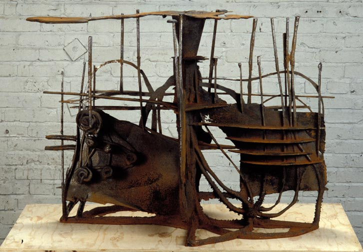 Subterrain, 1994,   cast iron, 31 x 41 x 26 inches / 78.7 x 104.1 x 66 cm