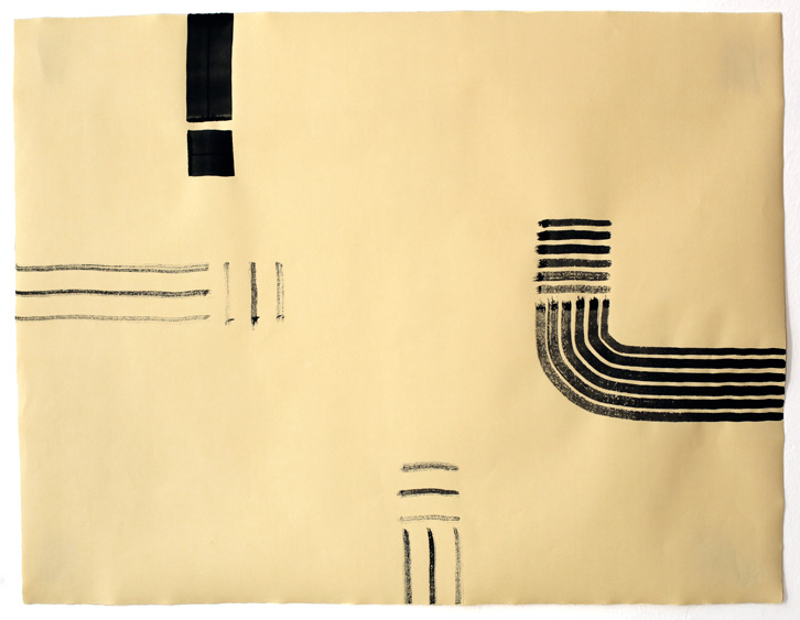 Untitled-11/013, 2011,   gouache on paper, 19 x 24.5 inches /48.3 x 62.2 cm